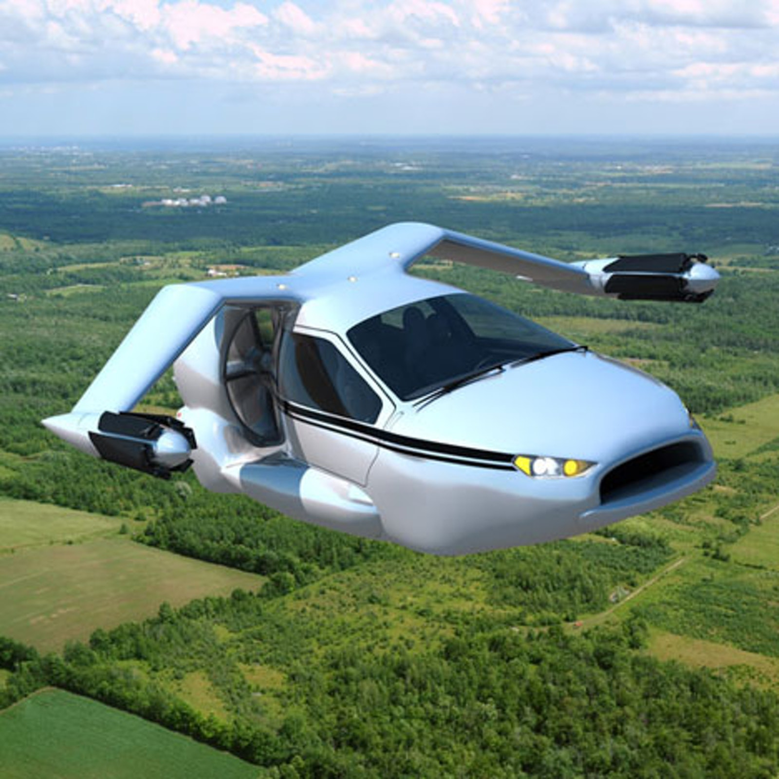 Terrafugia Concept Electric Flying Car
