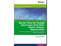 Flexible barrier films for electronics see 39.8% CAGR over next decade