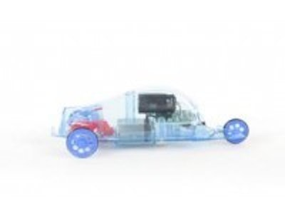 Energy harvesting toy car