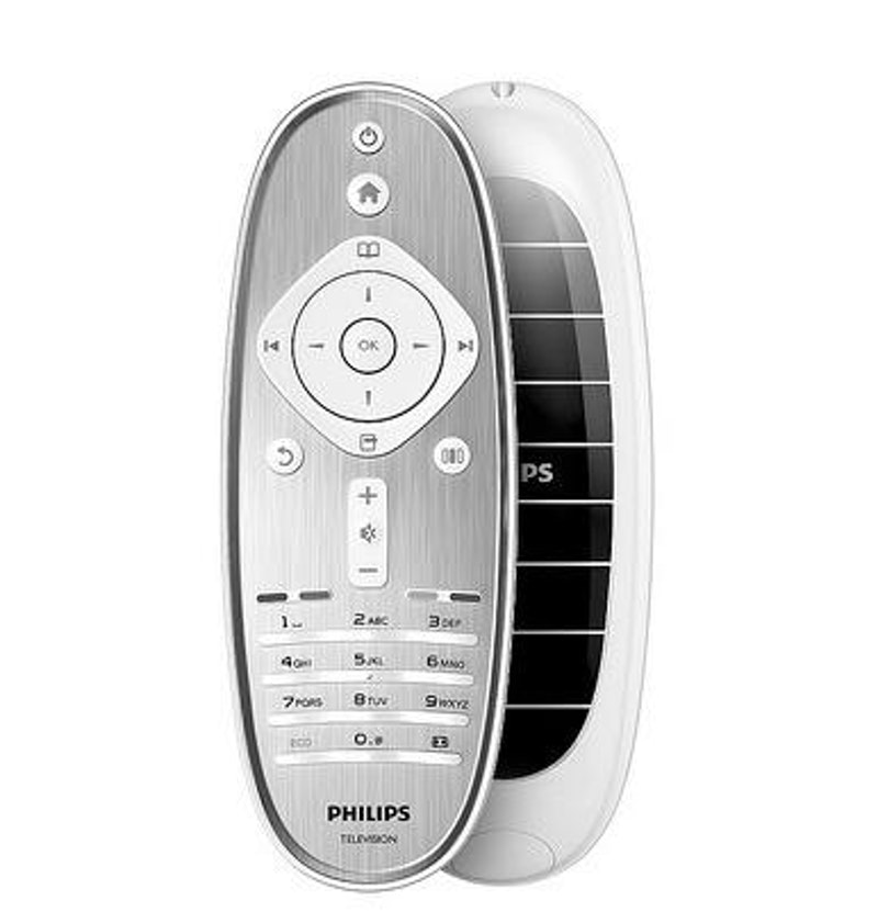 Philips introduces TV with solar powered remote control