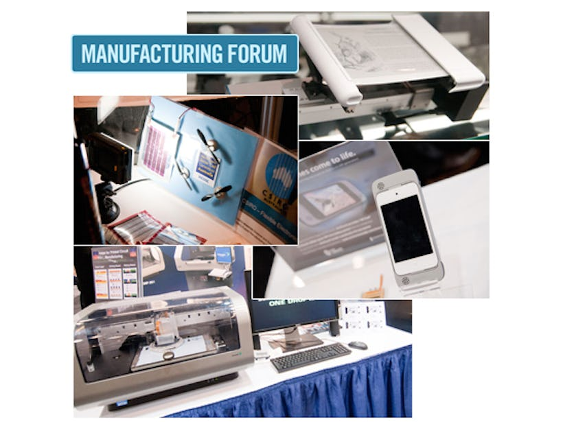 Printed Electronics Europe: Learn from those with E700Billion/yr sales