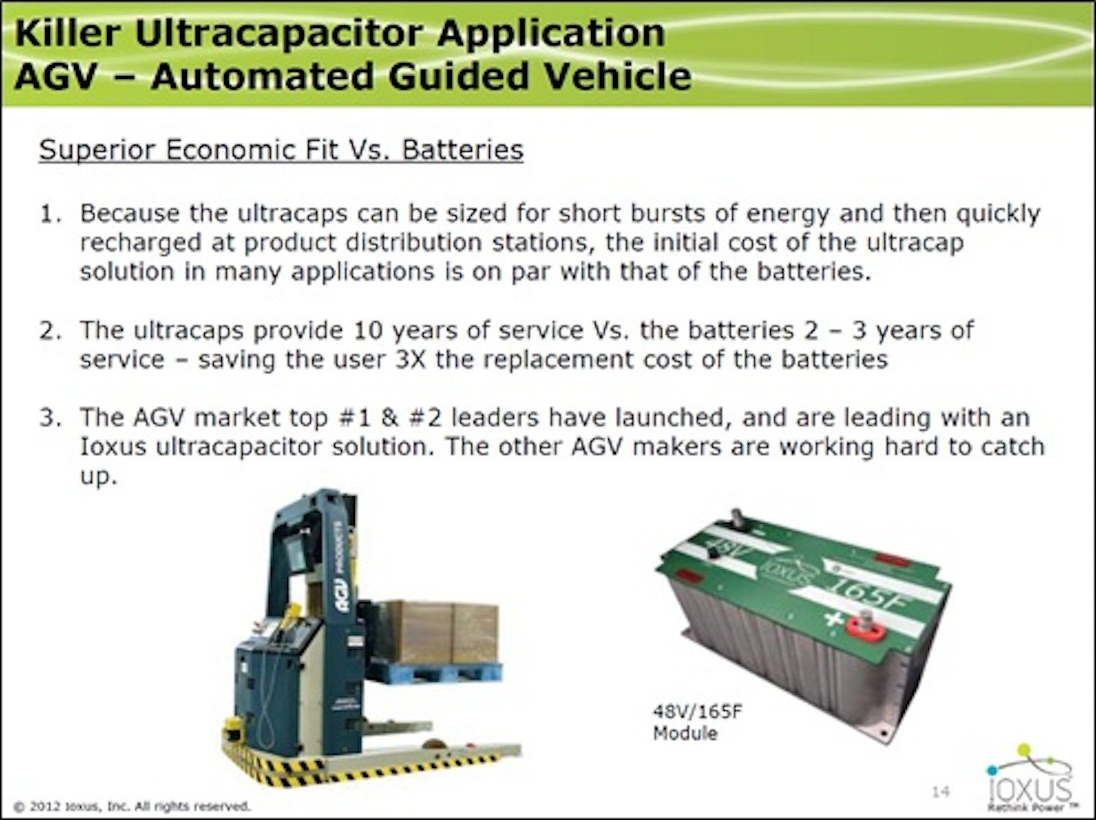 EV lessons from Energy Harvesting and Supercapacitors event