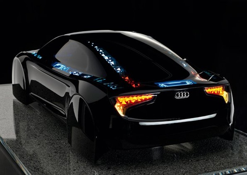 Audi To Introduce OLED Lights To Future Vehicles Printed - Audi future cars
