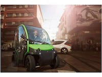 Estrima Birò MicroEV Quadricycle removable battery