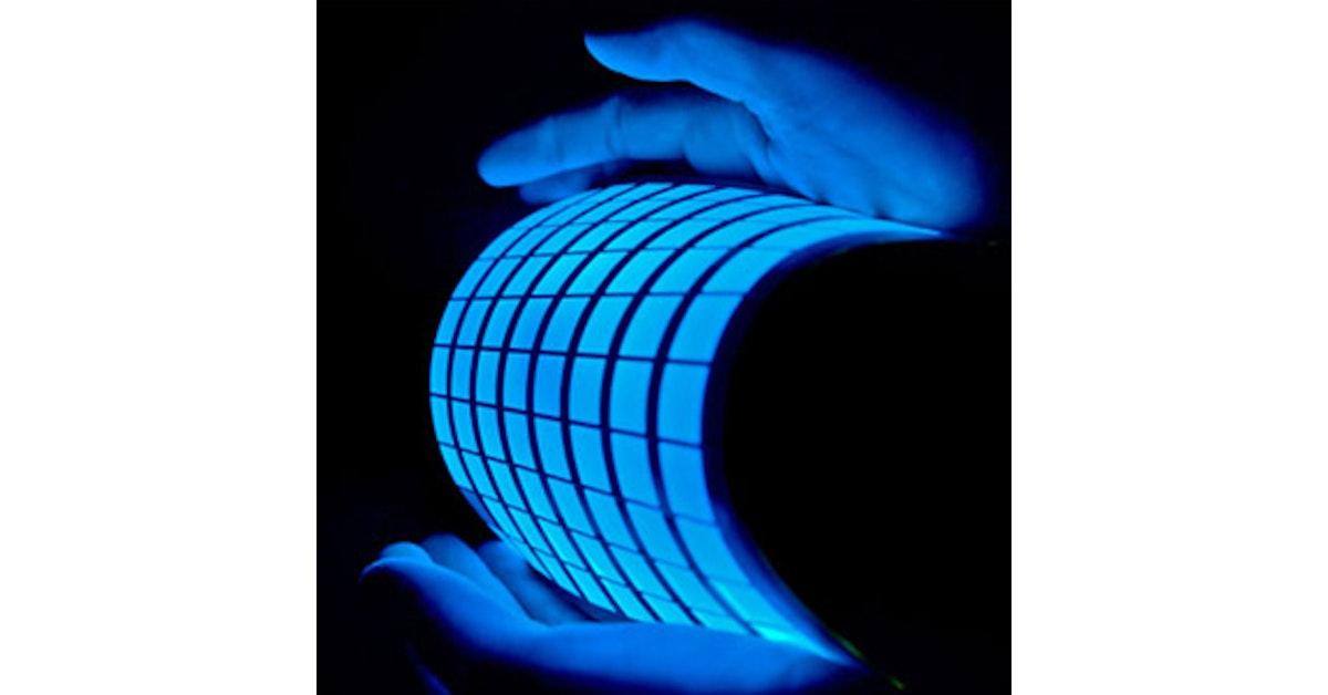 oled vs led lighting printed electronics world. Black Bedroom Furniture Sets. Home Design Ideas