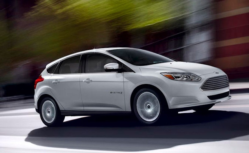 Ford Motor Co Is Recalling 2 618 Focus Electric Cars Because Of Potential Loss To The Wheels While Driving