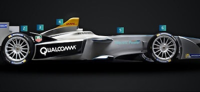Regen braking on first Spark-Renault e-racer