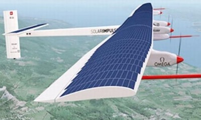 SunPower is official supplier to Solar Impulse Project