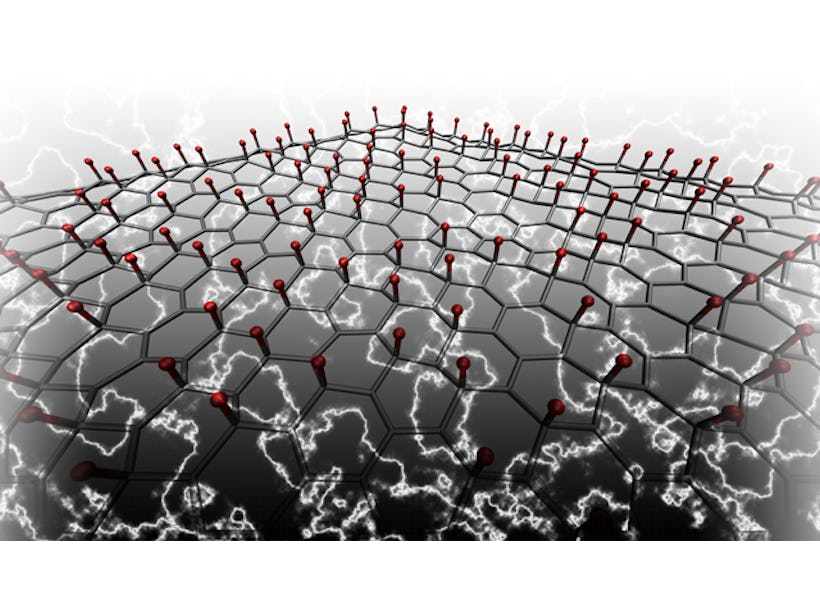 Engineers create piezoelectric graphene