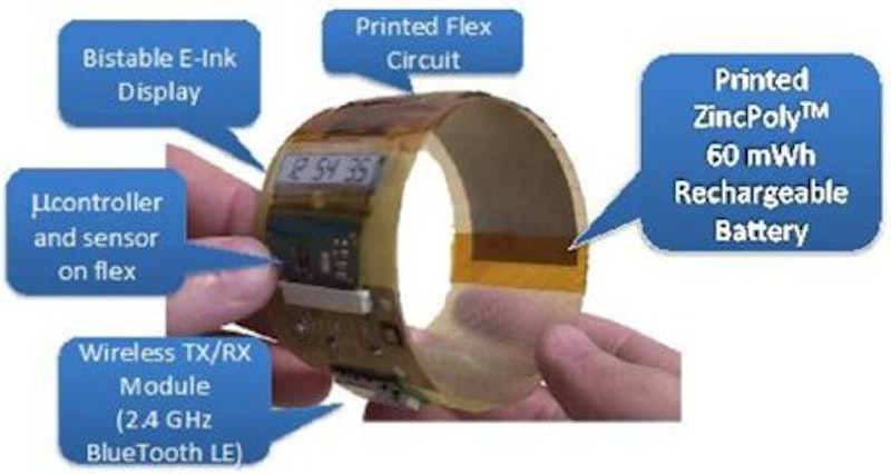 Imprint Energy completes FlexTech Alliance's printed battery project