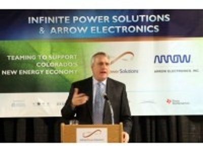 Infinite Power Solutions and Arrow Electronics Sign Global Agreement