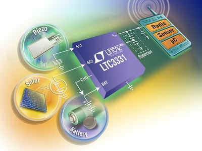 DC/DC converter with energy harvesting battery charger
