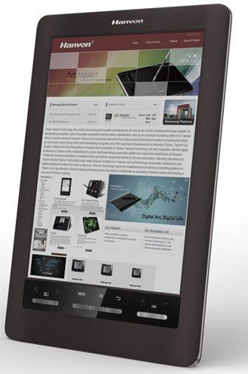 Worlds First Colour E Reader Printed Electronics World Working Of Electronic Ink Technology Chinese Manufacturer Hanvon Unveiled The Color At Ces 2011 Earlier This Month Device Uses And Has