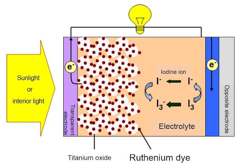 Tanaka Exclusively Supply Ruthenium Dye For Dye Sensitized