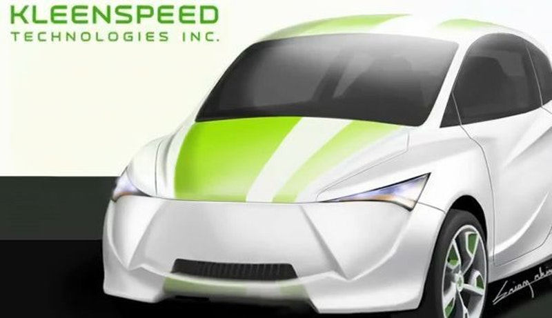 Another ultracapacitor pure electric car - Kleenspeed