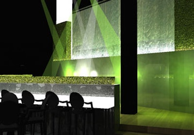 Energy generating dance floor at sustainable nightclub