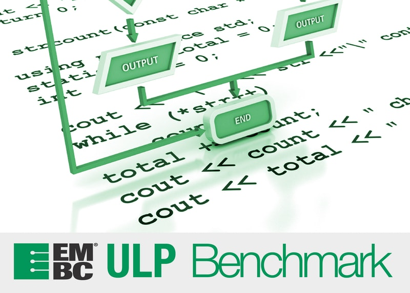 Industry-standard ultra-low power microcontroller benchmarks
