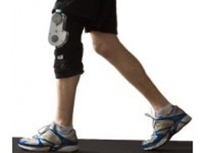 Energy harvesting knee brace