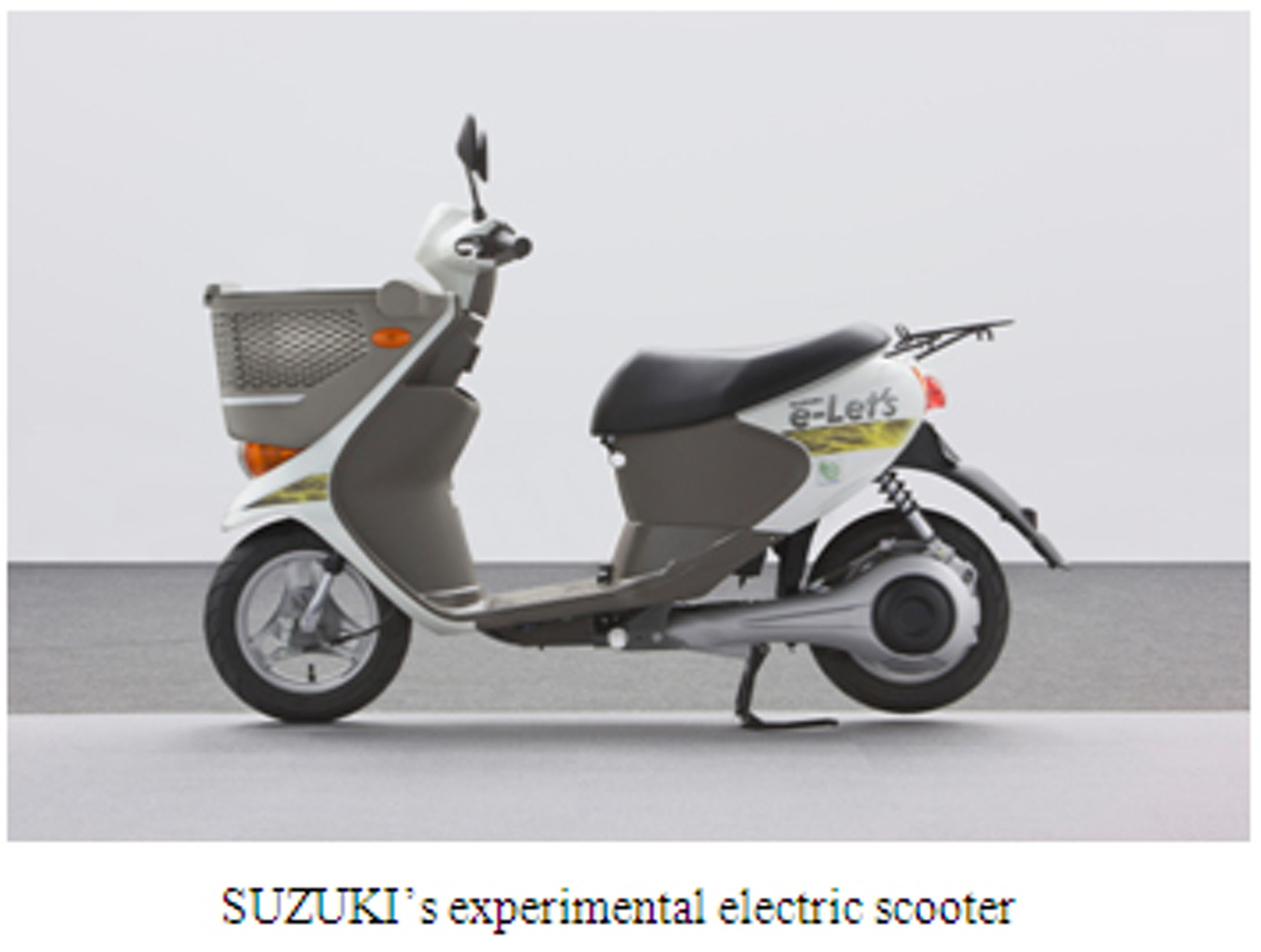 Sanyo Suzuki Co Develop System For Experimental Electric Scooters