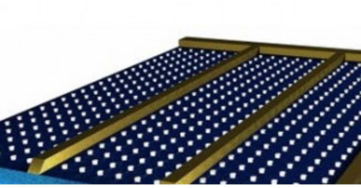Tiny Lego Brick Style Studs Make Solar Panels More