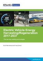 Electric Vehicle Energy Harvesting/ Regeneration 2017-2037