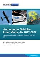 Autonomous Vehicles Land, Water, Air 2017-2037