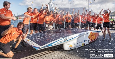 IDTechEx Show! Features Winning Solar Racing Car