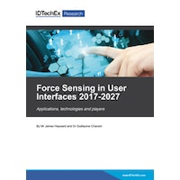 Force Sensing in User Interfaces 2017-2027 - Electronic (1-5 users)
