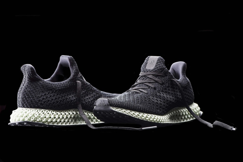Adidas shapes 4D shoe soles using light and heat | 3D