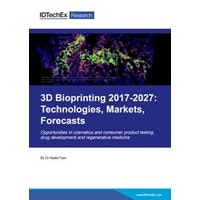 3D Bioprinting 2017-2027: Technologies, Markets, Forecasts - Electronic (1-5 users)