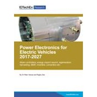 Power Electronics for Electric Vehicles 2017-2027 - Electronic (1-5 users)