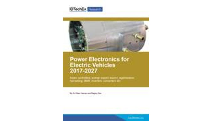 Power Electronics for Electric Vehicles 2017-2027