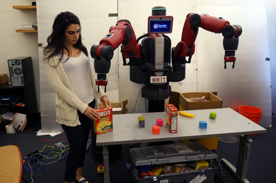 Robots learn contextual commands