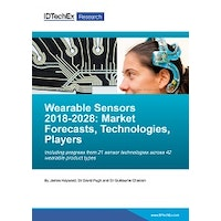 Wearable Sensors 2018-2028: Technologies, Markets & Players - Electronic (1-5 users)