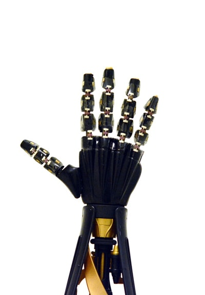 Artificial skin gives robotic hand a sense of touch