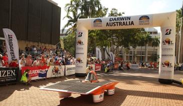 Teijin Aramid在太阳能赛车比赛中支持学生队