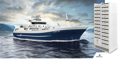 Corvus Energy powers industry's first hybrid fish processing vessel