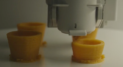 New platform for 3D printing of personalized food