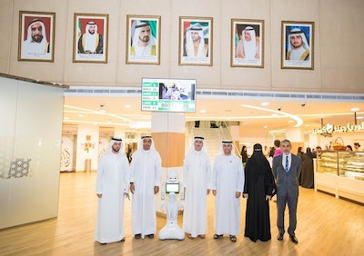 Dubai Electricity and Water Authority recruits five robots as staff