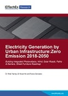 Electricity Generation by Urban Infrastructure: Zero Emission 2018-2050