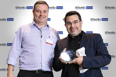 Exovite win at the IDTechEx Show Awards!