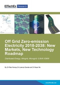 Off Grid Zero-emission Electricity 2018-2038: New Markets, New Technology Roadmap