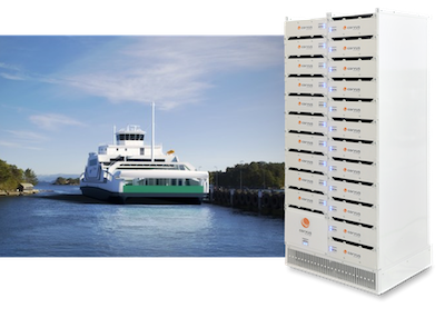 Contract for new Norwegian all-electric, battery powered ferry
