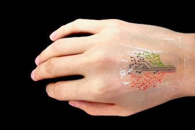 "Engineers 3-D print a ""living tattoo"""