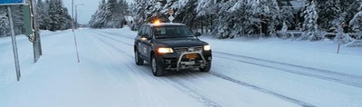 First Finnish robot car to challenge snow and ice