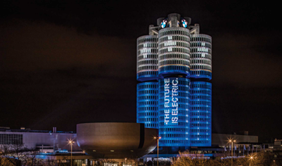BMW turns HQ into giant batteries as it hits target