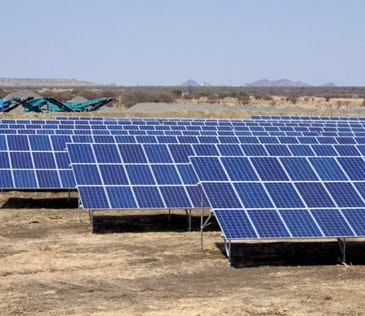 Mozambique's largest pre-paid solar mini-grid