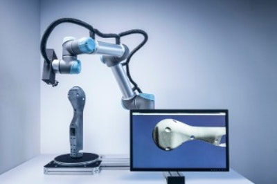 Autonomous 3D scanner supports individual manufacturing processes