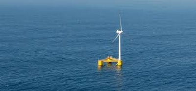 Floating wind turbine project area extended