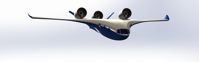 Starling jet hybrid-electric VTOL business jet